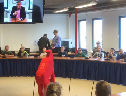 Wethouder Montfoort verwelkomt leerlingen met vlog