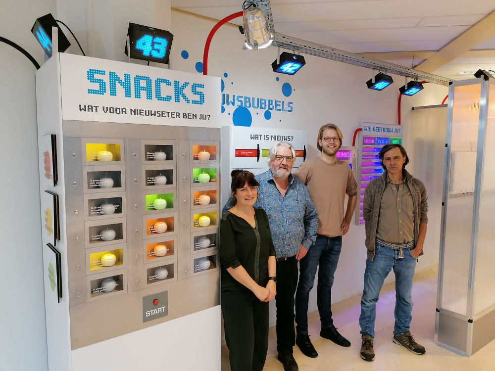 Zes nieuwe interactieve installaties voor Prodemos